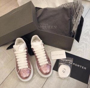 Alexander McQueen Sneakers white-pink