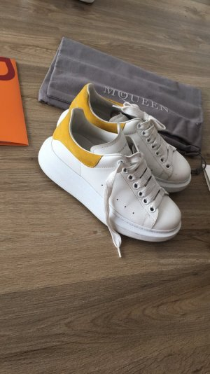 Alexander McQueen Sneakers met veters wit