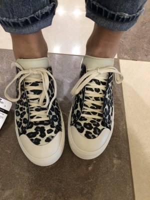 Alexander McQueen Lace-Up Sneaker multicolored leather