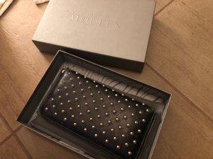 Alexander McQueen Wallet black-gold-colored