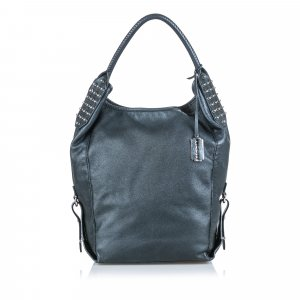 Alexander Mcqueen Studded Leather Hobo Bag