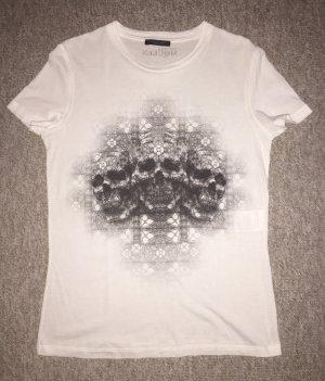 Alexander McQueen T-Shirt Totenkopfprint