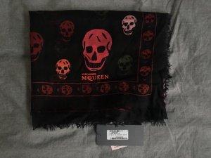 Alexander McQueen Sciarpa di seta multicolore