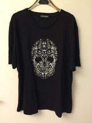 Alexander McQueen Tshirt in Gr. 48 schwarz