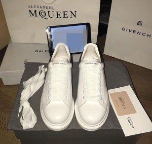Alexander McQueen Heel Sneakers white-black