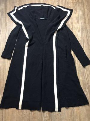 Alexander McQueen Abrigo de lana negro