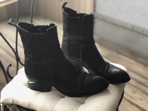 Alexander Wang Boots black-silver-colored
