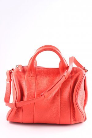Alexander Wang Bowlingtasche neonorange Party-Look