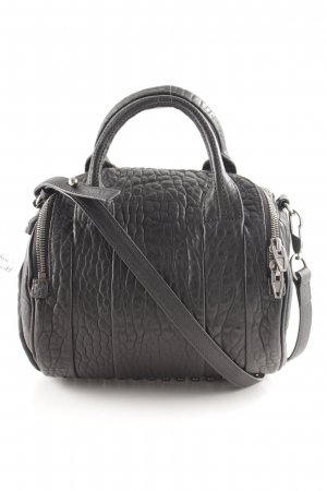 Alexander Wang Bowling Bag black biker look