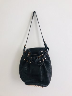 Alexander Wang Pouch Bag black leather