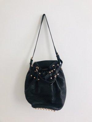 Alexander Wang Diego Bag Tasche It-Bag Lammleder Gold Nieten Rotgold