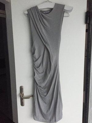 Alexander Wang eng anliegendes Kleid schönes grau