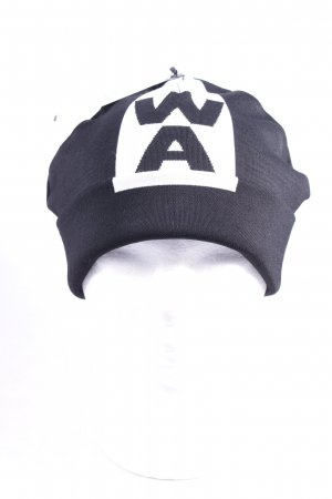 Alexander Wang for H&M Beanie schwarz-weiß Street-Fashion-Look