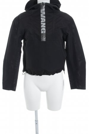 Alexander Wang for H&M Outdoor Jacket black loosely knitted pattern