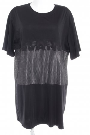 Alexander Wang for H&M Shirtkleid schwarz-weiß Maskulin-Look