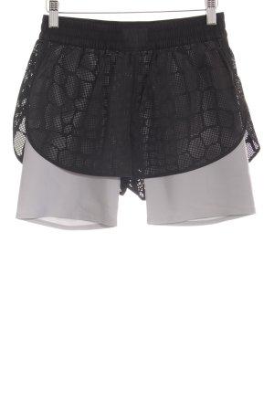 Alexander Wang for H&M Shorts nero-grigio chiaro stile atletico