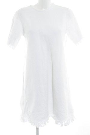 Alexander Wang Abito con frange bianco sporco elegante
