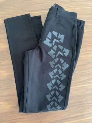 Alexander Wang for H&M Jeans slim fit nero