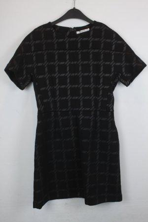 Alexander Wang Robe à manches courtes noir polyester