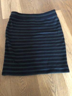 Alexander Wang Mini-jupe noir-bleu