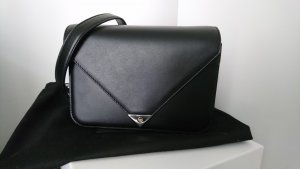 Alexander Wang Crossbody bag black-silver-colored leather