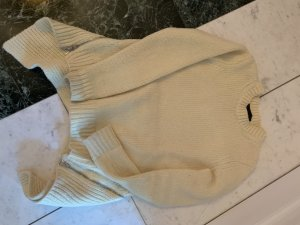 Alexander Wang Knitted Sweater oatmeal merino wool