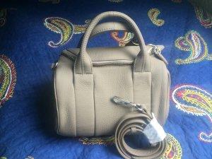 Alexander Wang Crossbody bag dark grey leather