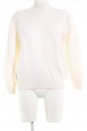 Alexander Wang Turtleneck Sweater natural white casual look