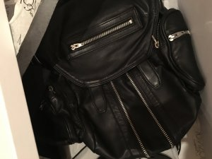 Alexander Wang Backpack Trolley black leather