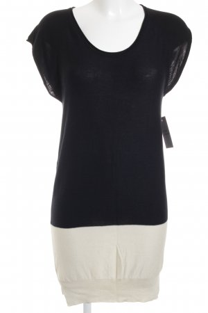 Alexander Wang Knitted Dress black-cream casual look