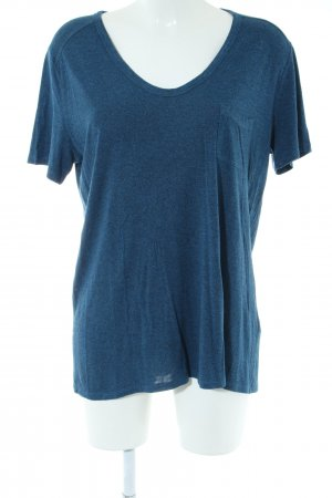 Alexander Wang T-Shirt blue flecked casual look