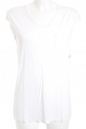 Alexander Wang T-Shirt weiß Casual-Look
