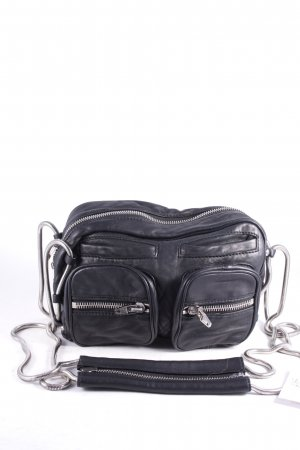 "Alexander Wang Umhängetasche ""Brenda Chain Bag Washed Black Rhodium"""