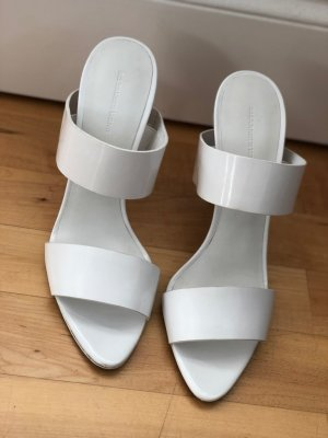 Alexander Wang Shoes white leather