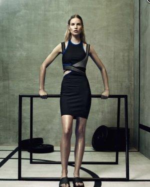 Alexander Wang for H&M Vestido cut out multicolor