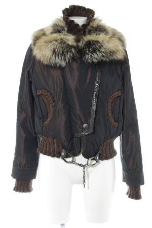 Alexandra Winter Jacket brown-bronze-colored casual look
