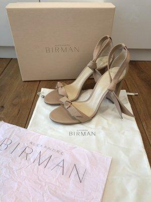 Alexandre Birman High Heel Sandal cream leather