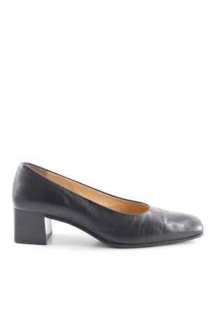 Alexandria High Heels schwarz Brit-Look