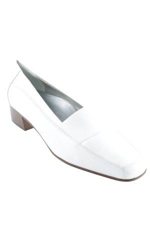 Alexandria Mocassins blanc style d'affaires