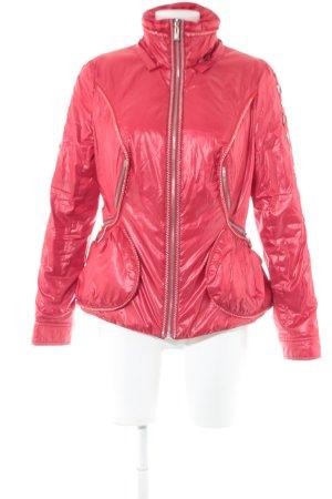 alexo Between-Seasons Jacket pink casual look