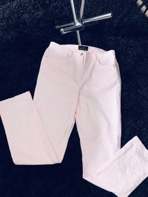 Alfredo Pauly Pantalone jersey rosa chiaro