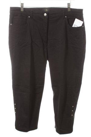 Alfredo Pauly 3/4 Jeans schwarz Casual-Look