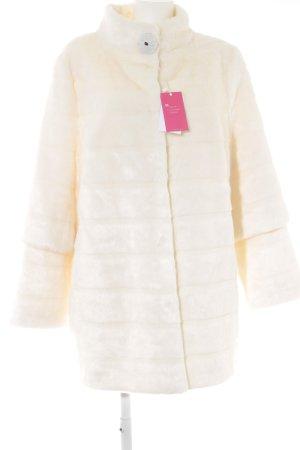 Alfredo Pauly Giacca di pelliccia bianco stile stravagante