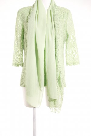 Alfredo Pauly Lace Blouse lime-green casual look