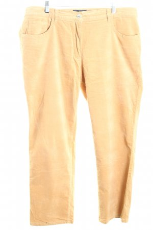 Alfredo Pauly Pantalón tipo suéter ocre look casual