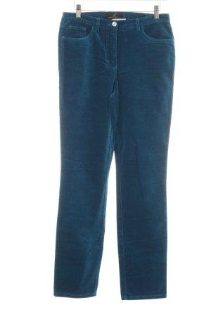 Alfredo Pauly Jeans a gamba dritta blu stile casual