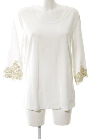 Alfredo Pauly Boatneck Shirt white business style