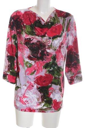 Alfredo Pauly Waterval shirt bloemenprint casual uitstraling