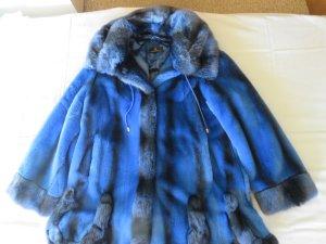 Alfredo Pauly Jack van imitatiebont blauw-neon blauw Gemengd weefsel