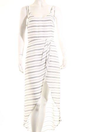 Ali & Jay Trägerkleid weiß-schwarz minimalistischer Stil